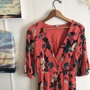 Miss Me Floral Midi Dress